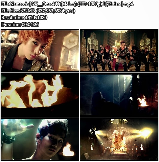 Download MV A-JAX (에이젝스) - One 4 U (원포유) (Melon Full HD 1080p)