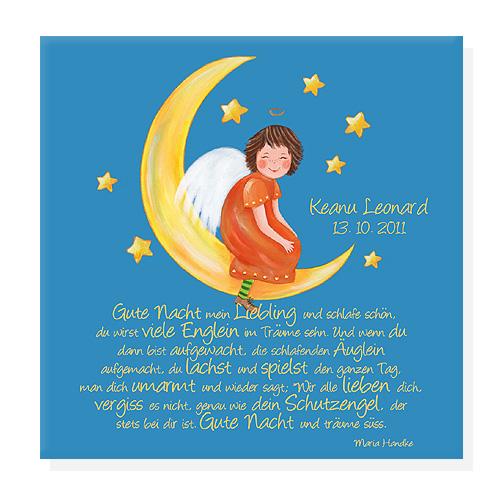 Bilder fürs Kinderzimmer - Kinderzimmerbilder Taufgeschenk Kinderzimmer Bilder