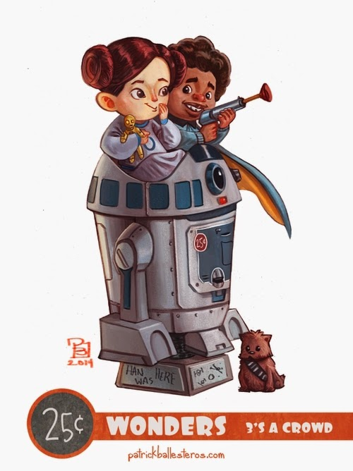06-Star-Wars-Patrick-Ballesteros-25-Cent-Wonders-Drawings-www-designstack-co