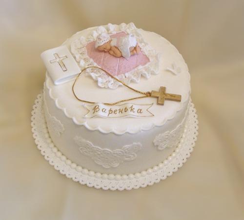 Торт на крестины в картинках