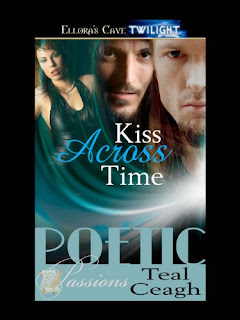 Guest Review: Kiss Across Time by Teal Ceagh