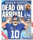 Giants earn horror cover