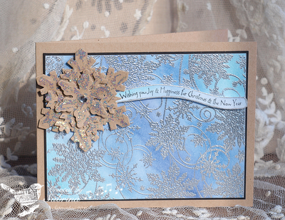 Our Daily Bread Designs, Snowflake Background