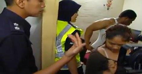 Gadis 16 Tahun Ditangkap Khalwat bersama Lelaki Wargenagara Negeria