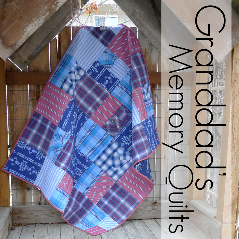 Pieces by Polly: Granddad's Memory Quilts : memorial quilt patterns - Adamdwight.com