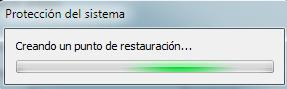 Cómo crear un punto de restauración Windows 7 - Paso 5