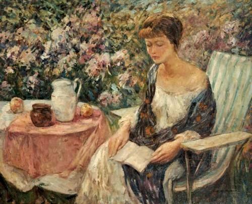 Reading and art wilson henry irvine for Jardin wilson