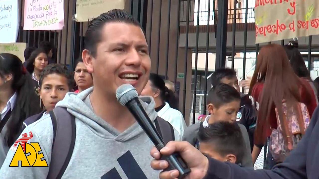 Comunidad educativa del Colegio Santa Librada rechaza la imposición de la Jornada Única