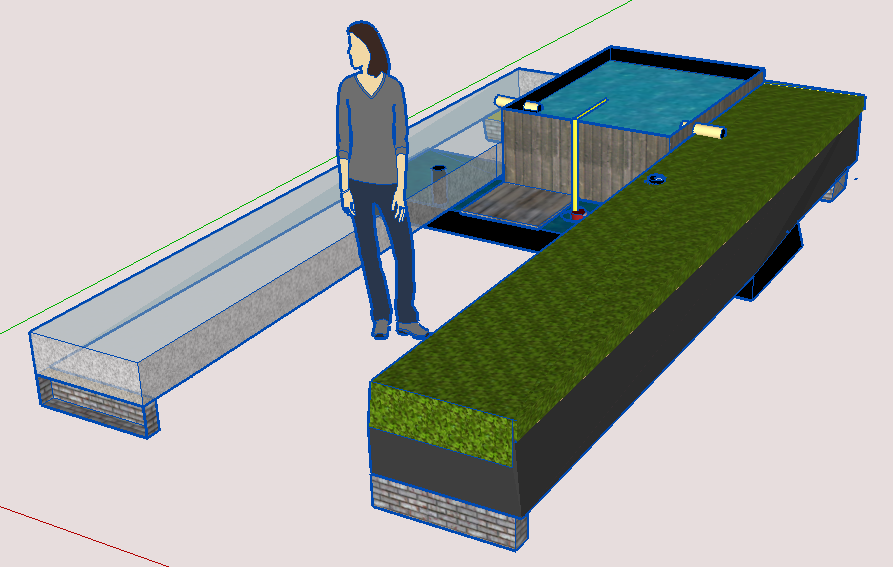 Aquaponic Pond System