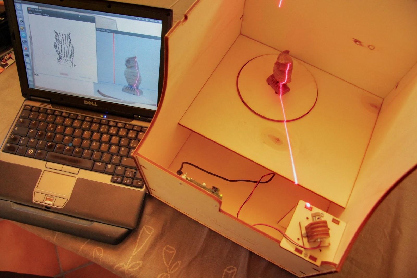 Diy 3d scanner