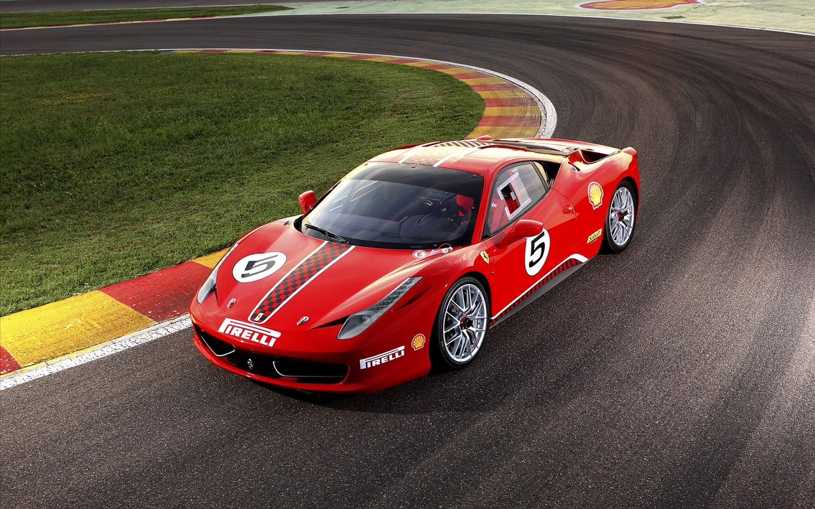 Ferrari 458 HD Wallpaper for iPhone