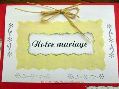 Invitation de mariage exemple