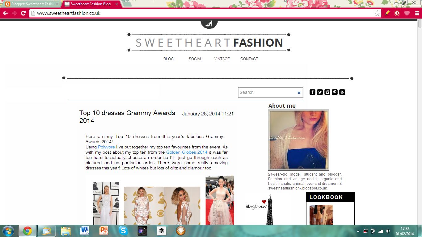 SweetheartFashion.com Website