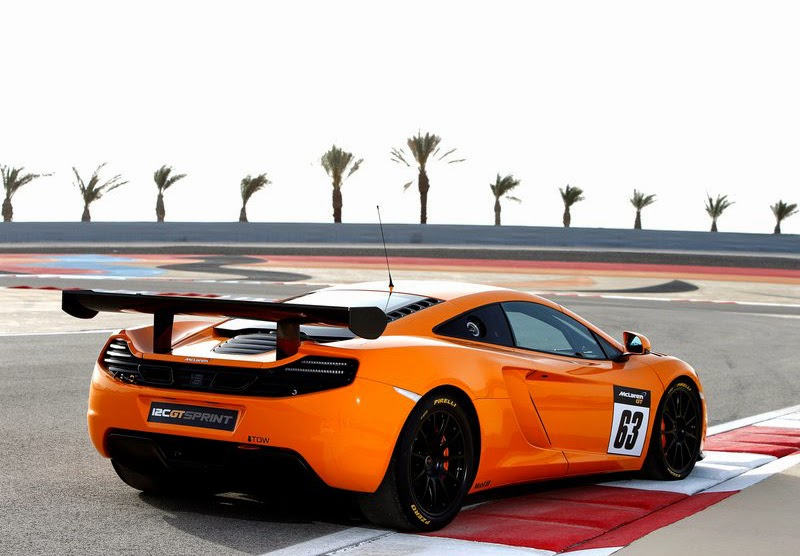 McLaren 12C GT Sprint, 2014, Indo Automobiles, Cars Concept, Luxury Automobile
