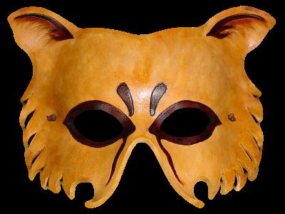 Máscara Carnaval PNG - Leoa
