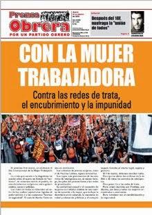 - - - Prensa Obrera Nº 1352 - -