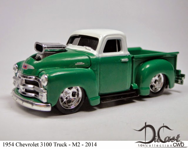 Diecast Cwb 1 64 Collection 1954 Chevrolet 3100 Truck
