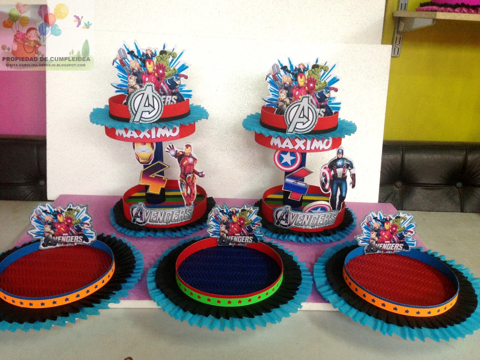 Decoraciones infantiles avengers for Decoraciones infantiles para ninos