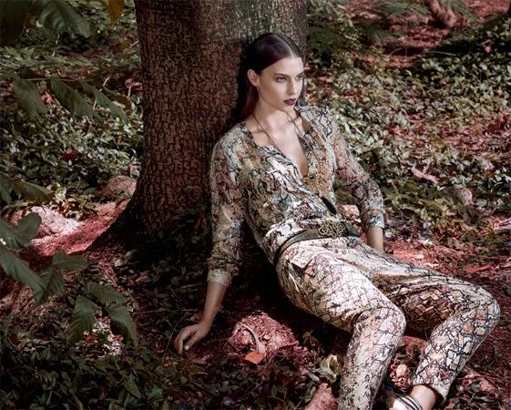 Spezzato catálogo outono inverno 2015 look blusa e calça cigarrete