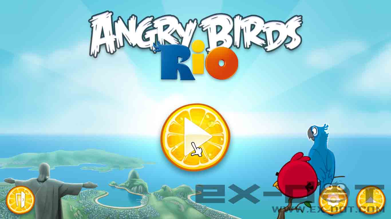 4f1l news angry birds rio v1 1 0 with portable full. Black Bedroom Furniture Sets. Home Design Ideas
