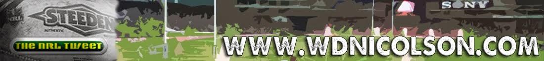 wdnicolson.com - An NRL Blog