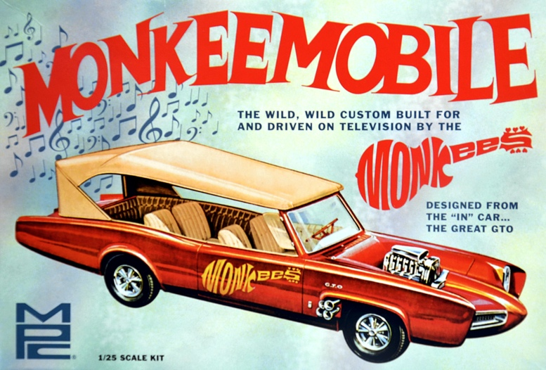 Scale Model News Salute To Legendary Monkeemobile Custom Car