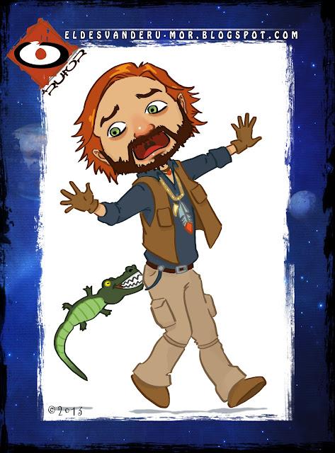 Personaje de la saga de libros infantiles para la meditación de ADA y ZAX. Ilustración hecha por ªRU-MOR