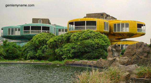Casas UFO - Sanzhi pod houses en Taiwán
