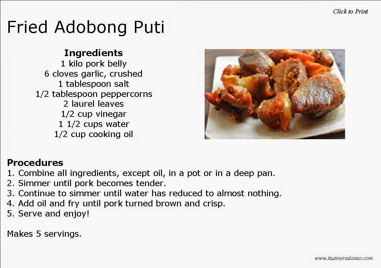 Ifa Food Recipes