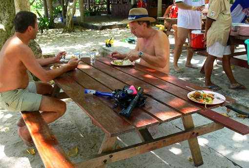 Tourists at Similan islands south Thailand