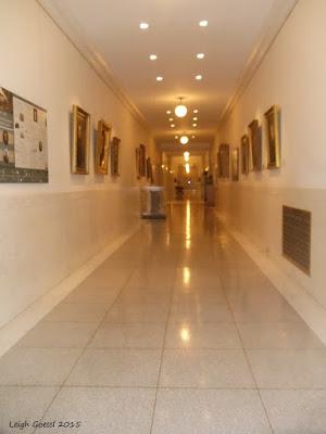 Supreme Court hallway