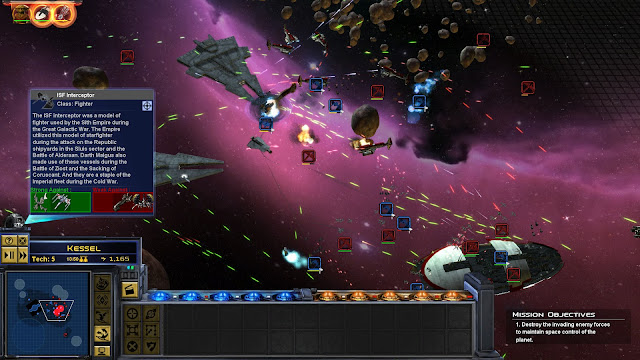 Star Wars: Empire At War: Forces of Corruption, Old Republic Era space battle