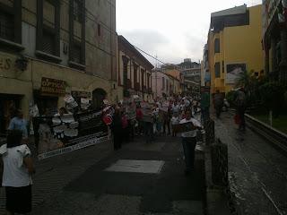 Marcha en Morelos 11 de Septiembre contra la reforma educativa