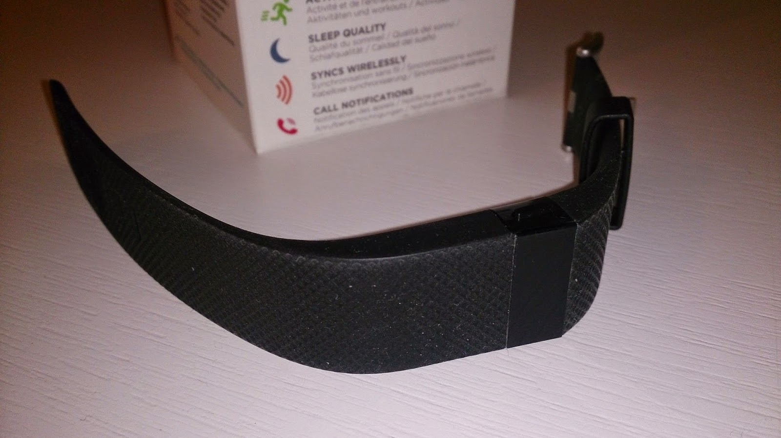 Fitbit Charge HR frontal
