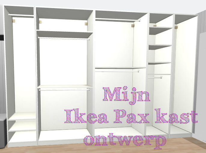 mijn ikea pax droomkast veggielista. Black Bedroom Furniture Sets. Home Design Ideas