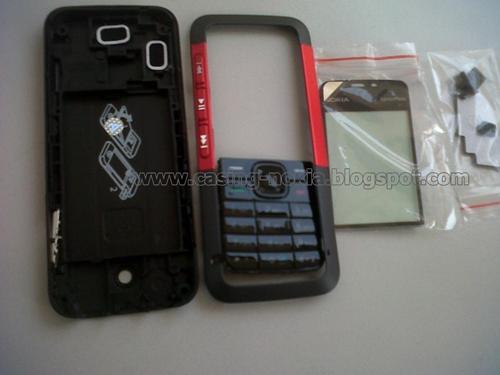 Jual Casing Nokia 5310 XpressMusic Red Fullset