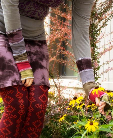 organic+patchwork+fingerless+gloves - Wishlist Worthy: Organic Patchwork & Pockets