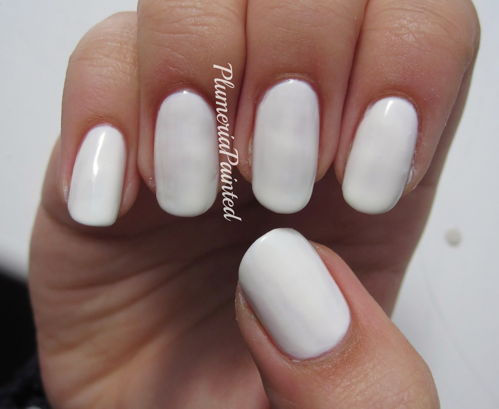 PlumeriaPainted: White Nails: No.7 - Snowflake