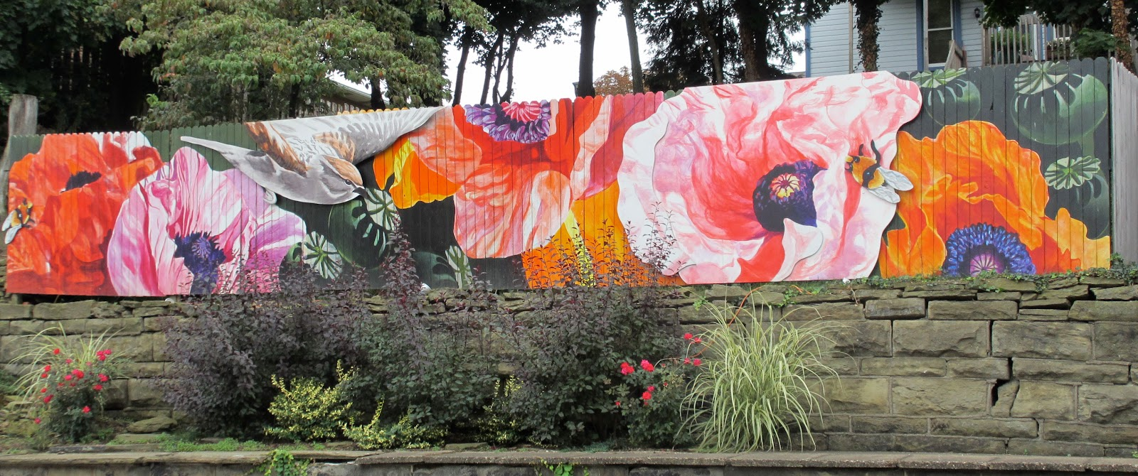 Superior Garden Themed Mural By Ashley Hodder