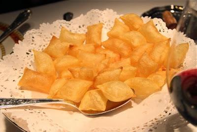 Patatas soufflées de Zalacaín. Blog Esteban Capdevila