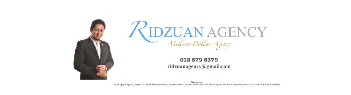 RIDZUAN Agency - AIA Million Dollar Agency