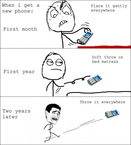 Funny Fact - Whenever I Buy A New Mobile Phone
