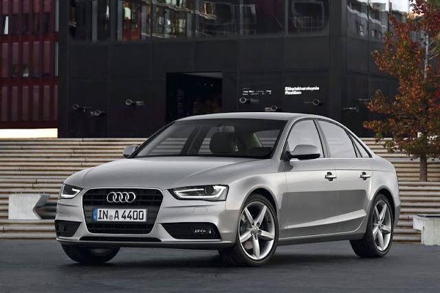 2013 Audi A4 Saloon Silver Exterior