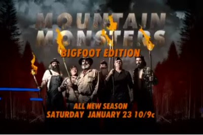 Mountain Monsters Destination America Bigfoot