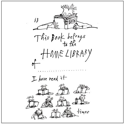 For immediate release reviews kids quentin blake bookplates for Roald dahl book review template