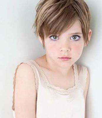 model trendy rambut pixie untuk anak perempuan 201145