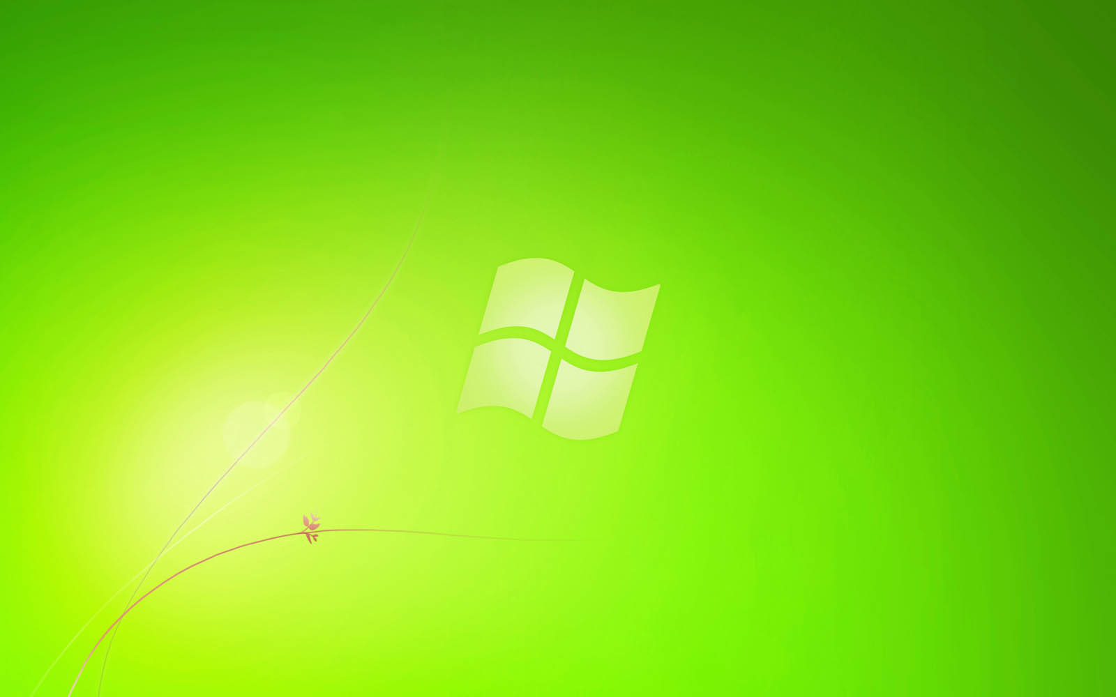 Wallpapers green windows 7 wallpapers for Window background