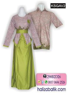 085706842526 INDOSAT, Toko Batik Online, Busana Modern, Model Baju Batik Couple, KSGAV2