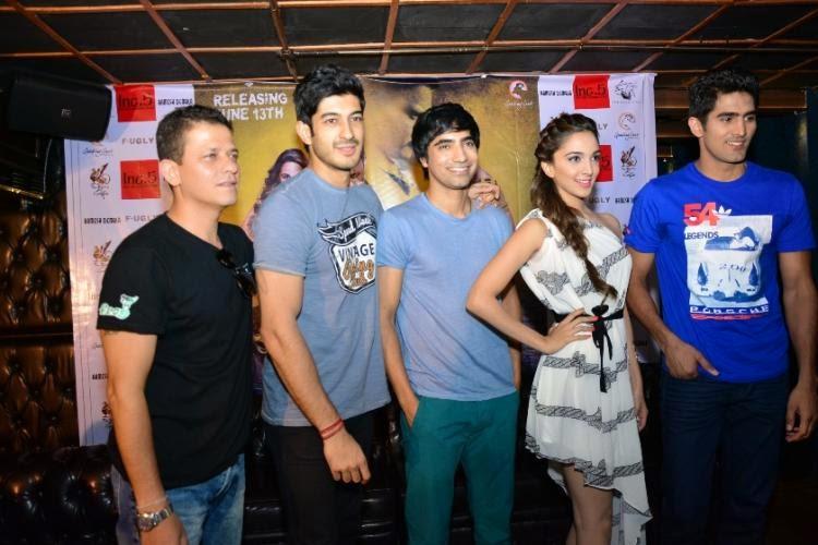 'Fugly' cast Kiara Advani, Mohit Marwah, Vijender Singh and Arfi Lamba  stops in Bangalore