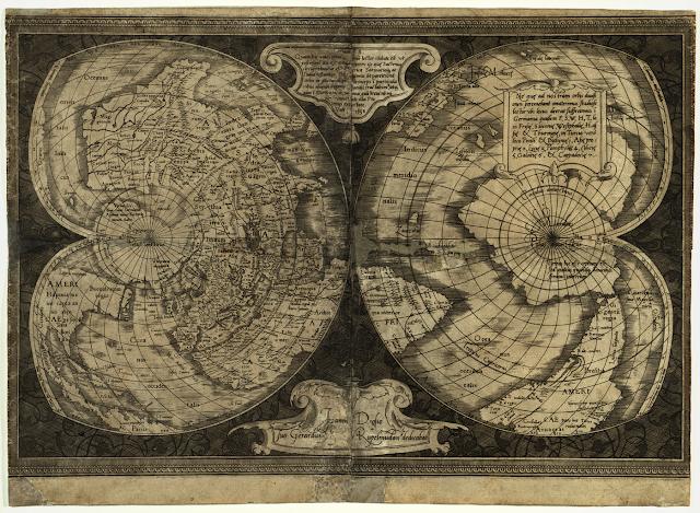 Bản đồ Mercator, 1538
